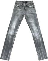 Philipp Plein Grey Denim - Jeans Trousers for Women