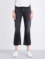 Citizens of Humanity Estella straight flared high-rise jeans
