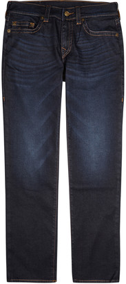 True Religion Geno indigo straight-leg jeans