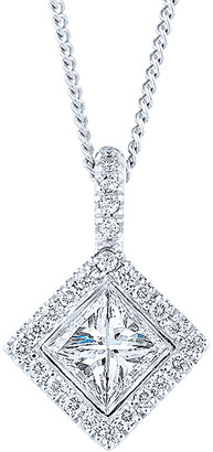 Kwiat Silhouette 18K 0.65 Ct. Tw. Diamond Necklace