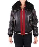 Fausto Puglisi Leather Jacket