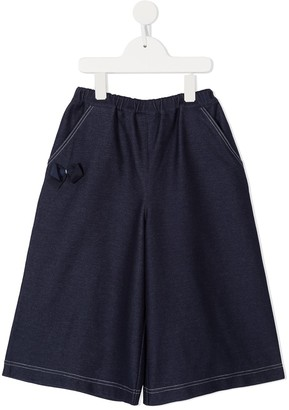 Familiar Classic Flared Trousers