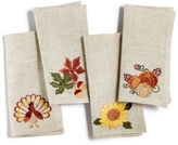 Homewear Homewear Harvest Charms 4 Piece Napkin Set