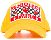 DSQUARED2 patch-front baseball cap - men - Cotton - One Size