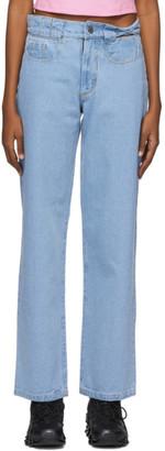BARRAGÁN Blue Torcido Jeans