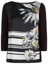 Damsel in a Dress Stripe Daisy Top, Multi