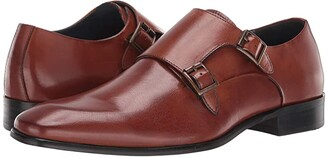 Steve Madden Beaumont Loafer (Cognac Leather) Men's Shoes