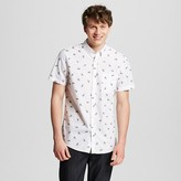 Mossimo Men's Navy Botantical Print Shirt