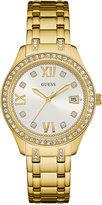 GUESS Women's Waverly Gold-Tone Stainless Steel Bracelet Watch 38mm U0848L2