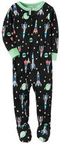 Carter's Toddler Boy Space Footed Pajamas