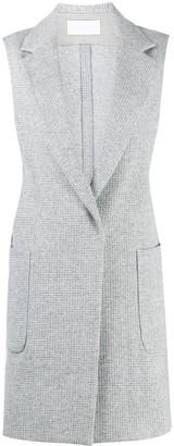 Fabiana Filippi Sleeveless Single-Breasted Coat