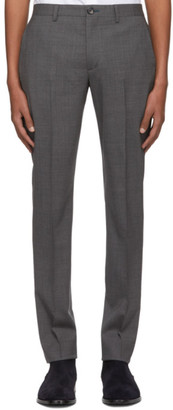 Paul Smith Grey Wool Mid Fit Trousers