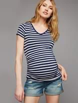 Articles of Society Secret Fit Belly Roll Hem Maternity Shorts