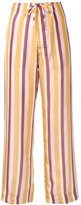 Marni striped high-waisted trousers