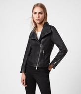 AllSaints Ellis Leather Biker Jacket