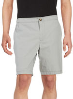 Black Brown 1826 Lightweight Cotton Shorts