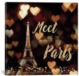 iCanvas 'Meet Me In Paris' Giclee Print Canvas Art