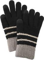 Steve Madden Chevron Block iTouch Gloves