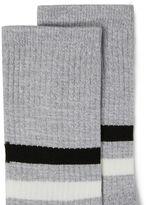 Topman Gray Twist Tube Socks