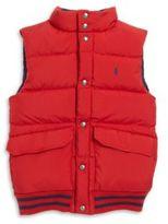 Ralph Lauren Toddler's, Little Boy's & Boy's Reversible Down Vest