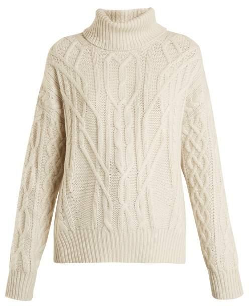 Nili Lotan Cecil roll-neck cashmere sweater