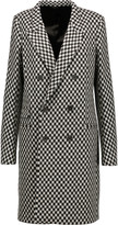 Haider Ackermann Checked wool-blend coat
