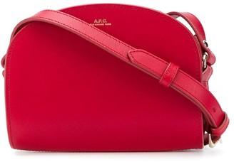 A.P.C. Double Zip Shoulder Bag
