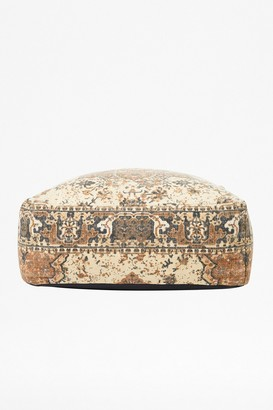 French Connection Natural Kasbar Pouffe