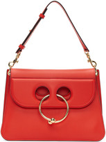 J.W.Anderson Red Medium Pierce Bag