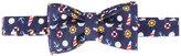 fe-fe nautical print bow tie