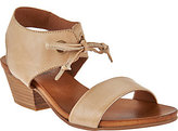 Miz Mooz As Is Leather Sandals with Tie Detail - Vanessa