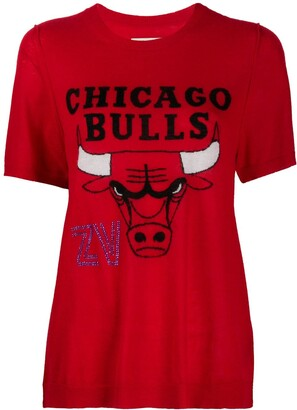 Zadig & Voltaire x NBA Chicago Bulls short sleeve pullover