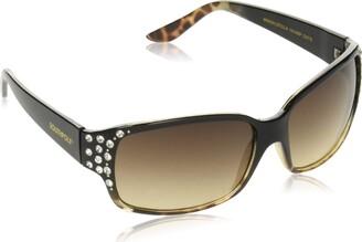 Southpole Women's 1014sp Oxts Non-Polarized Iridium Rectangular Sunglasses