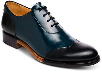 Evans The Office of Angela Scott Mr. Wing-Tip Oxford, Black