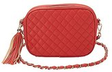 Charlotte Russe Quilted Crossbody Bag