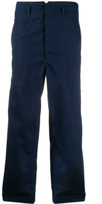 Marni wide leg cargo trousers
