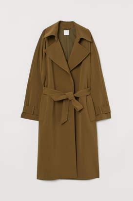 H&M Trenchcoat - Green