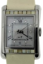 Bedat & Co No.7 Stainless Steel With Mother of Pearl & Diamonds Womens Watch