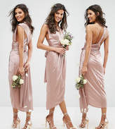 TFNC Wedding Wrap Pencil Multiway Midi Dress