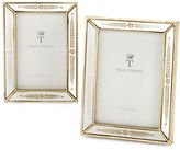 Twos Company Two'S Company Mirrored Photo Frames Set of Two