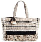 Amuse Society Carried Away Woven Weekend Tote
