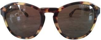 Marc by Marc Jacobs Beige Plastic Sunglasses