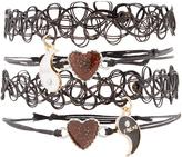 Accessorize 4 X Mystic Moodstone Friendship Bracelet Pack