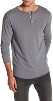 Kinetix Lounge Long Sleeve Henley Tee