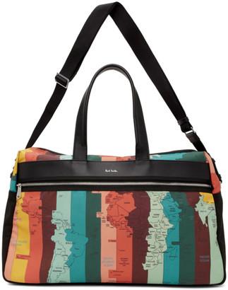 Paul Smith SSENSE Exclusive Multicolor Travel Duffle