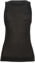Balmain Ribbed-knit tank top