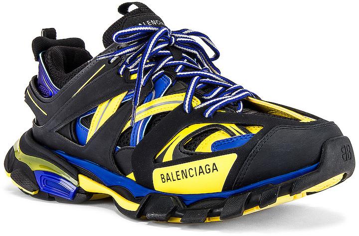 Balenciaga Track 2 Open Metallic Sneakers Big Apple Buddy