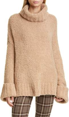 ADAM by Adam Lippes Merino Wool & Cashmere Blend Teddy Bear Sweater
