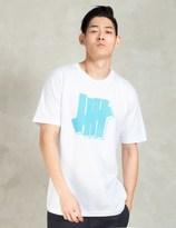 Undefeated White Strike Block T-Shirt