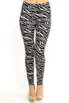 New Mix Zebra Print Leggings